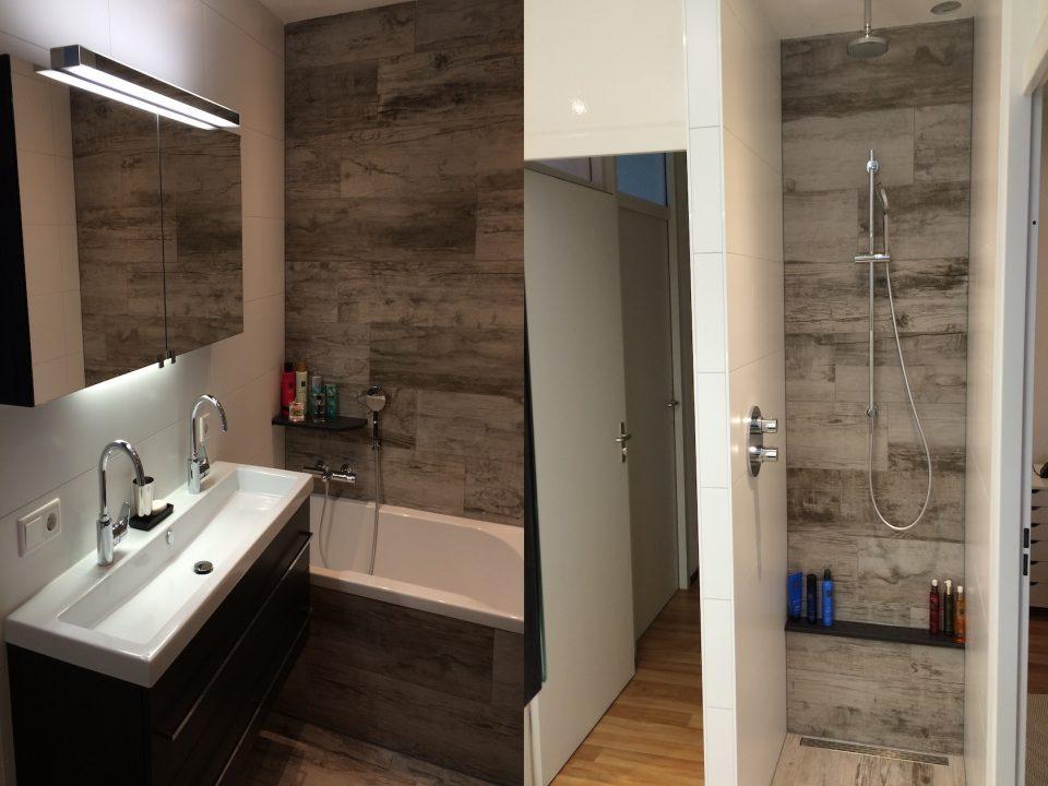 Volledige badkamer renovatie